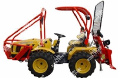 Hittner Ecotrac 40 Erdészeti traktor